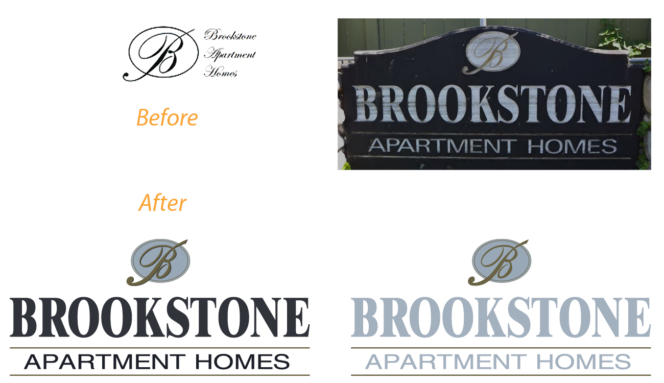 Apartment Logo Redrawing