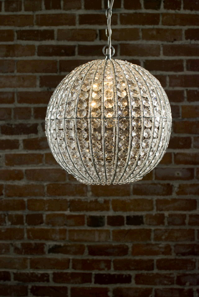 CHANDELIER CRYSTAL ORB 13 INCH Rentals Ft Wayne IN Where