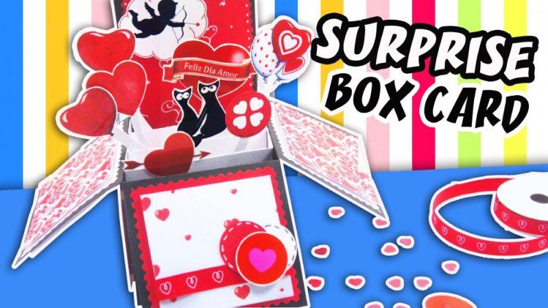 Surprise Exploding Card