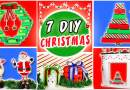7 DIY Christmas decoration with recycled materials
