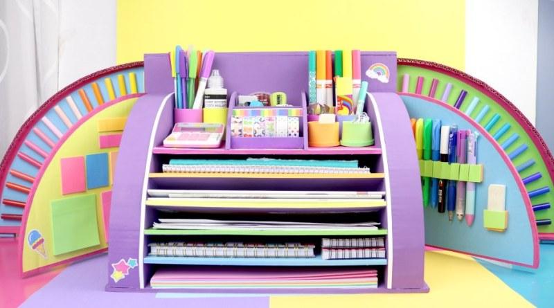 Unicorn desktop organizer