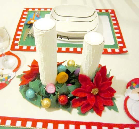 manualidades para navidad velas