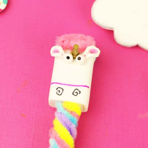 how to make unicorn pencil