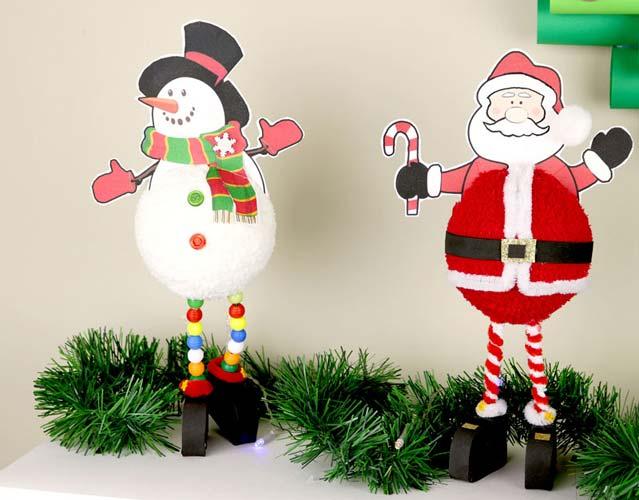 manualidades para navidad con reciclaje
