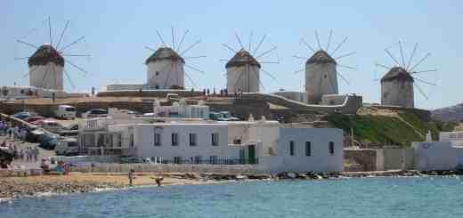 Il simbolo dell'isola: i mulini di Kato Myli