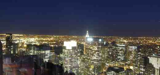 Vista di New York dal Top of the Rock