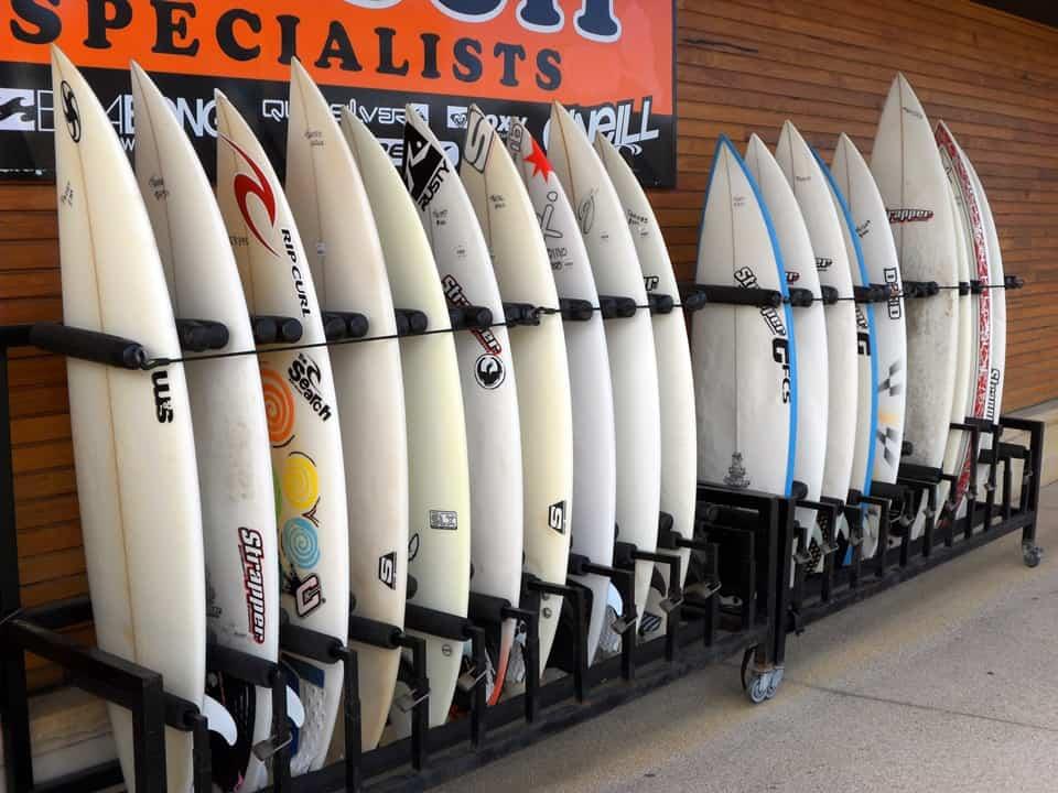 Negozio di attrezzatura da surf a Turquay
