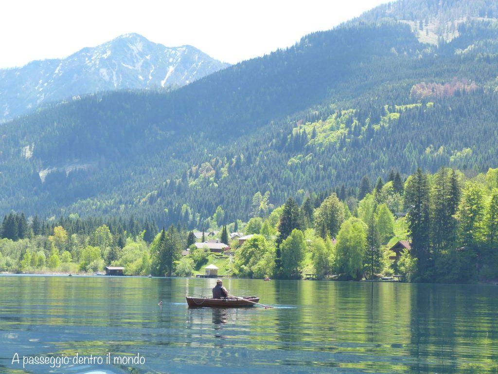Weissensee lago bianco austria