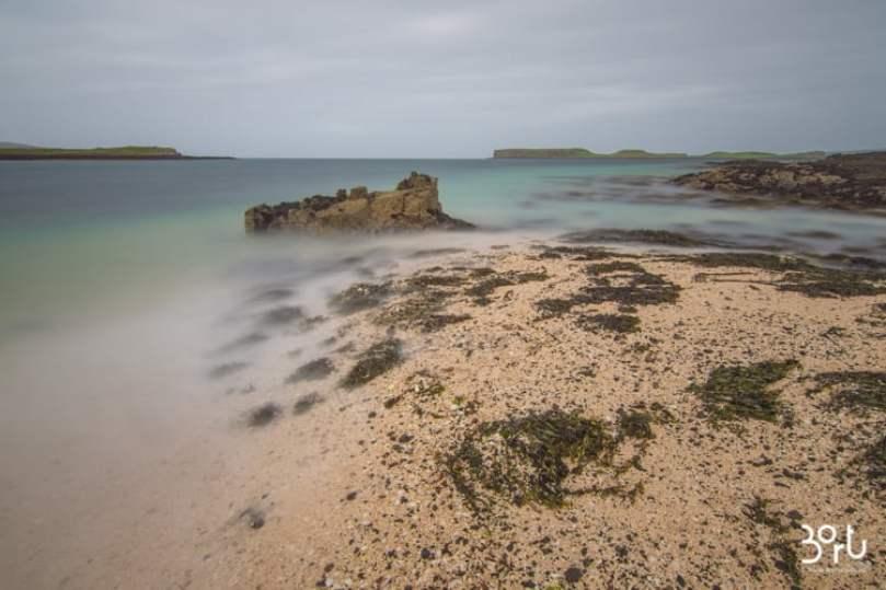 coral beach. claigan, scozia