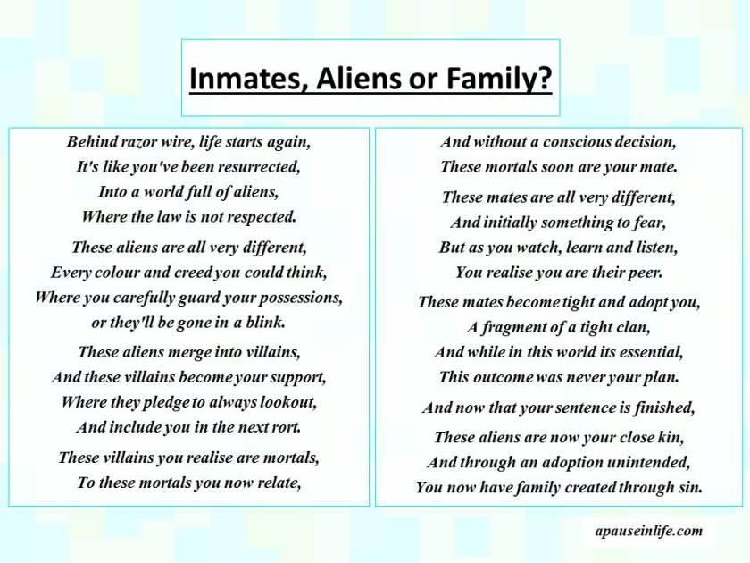 poems for a friend in jail