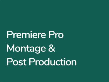 Formation Premiere Pro Montage et Post production Premiere Pro CC
