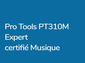 Formation Pro Tools Expert Musique PT310M