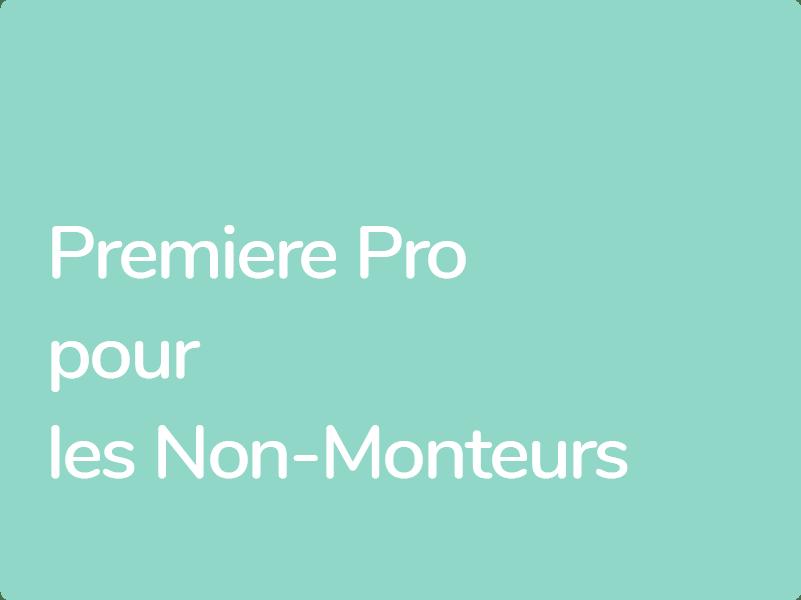 Formation Premiere Pro éligible CPF pour photographes