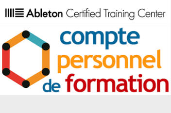 Formations Ableton Live Apaxxdesigns éligibles au CPF