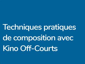 Composition en situation au festival Kino Off Courts de Trouville et Kino Caen