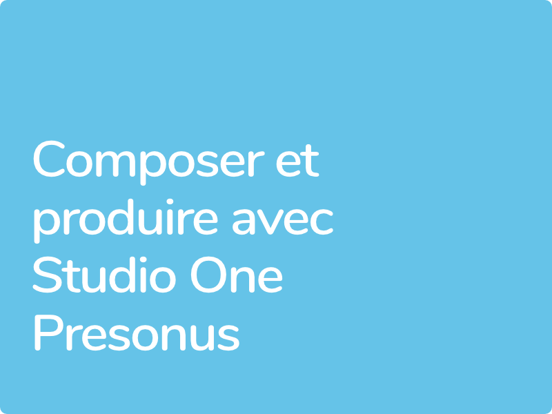 Formation Studio One éligible CPF
