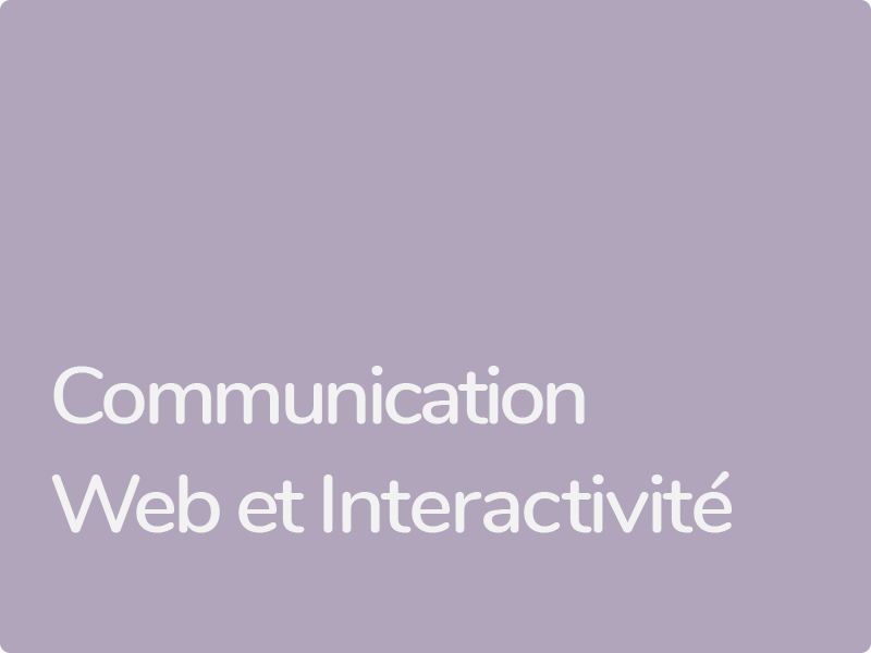 Formations Communication Web WordPress et interactivité HTML5