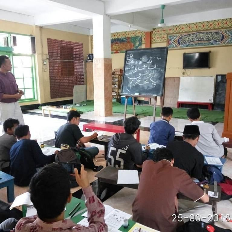 kursus kaligrafi