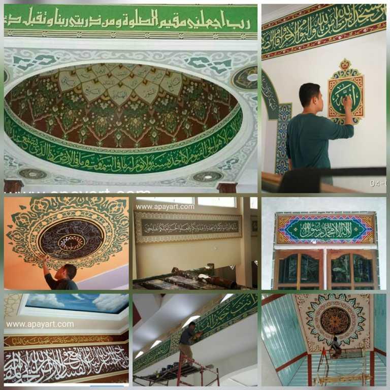 jasa pembuatan kaligrafi