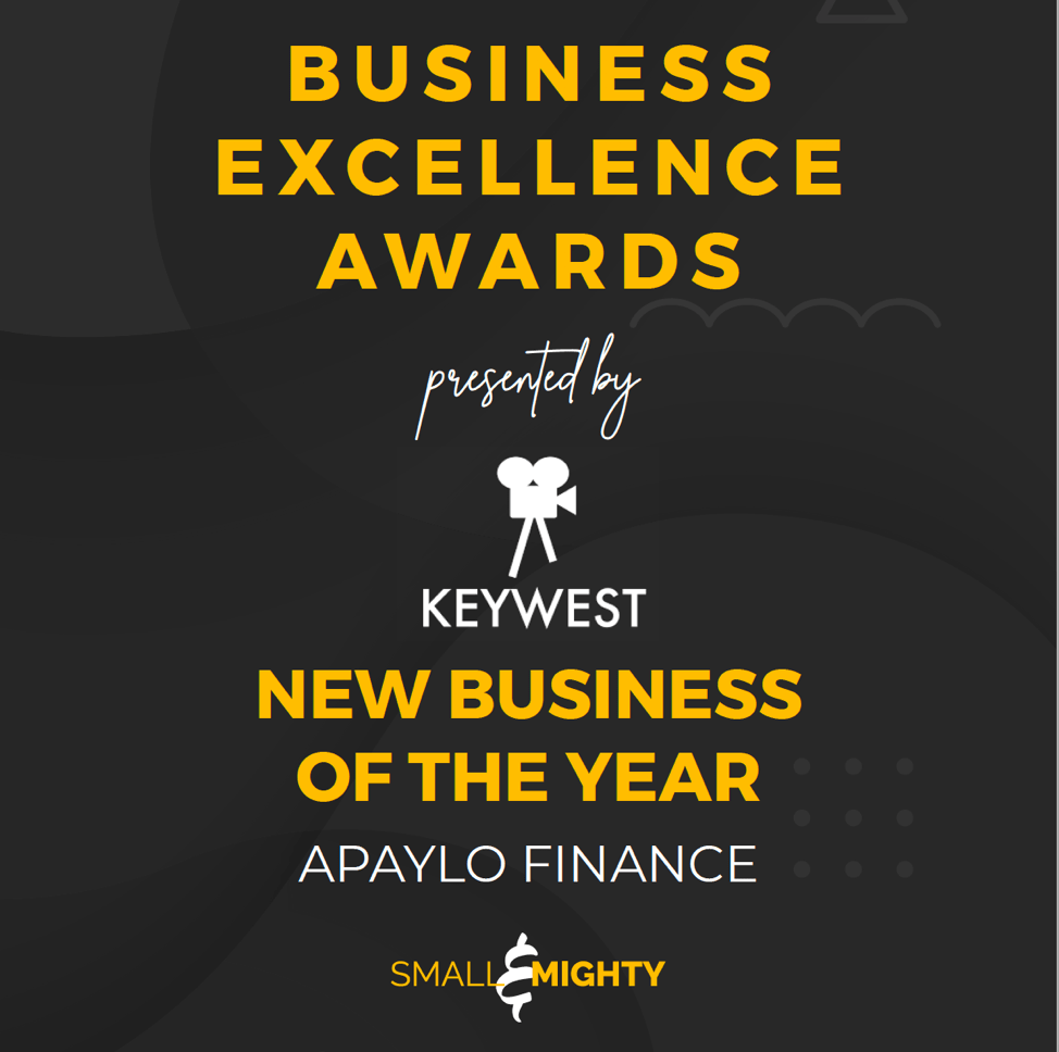 SMALL & MIGHTY - Business Excellence Awards (presented by Keywest) - New Business Of The Year Winner