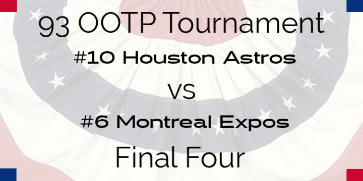 Out Of The Park 1993 Tournament – Final Four – Astros vs Expos
