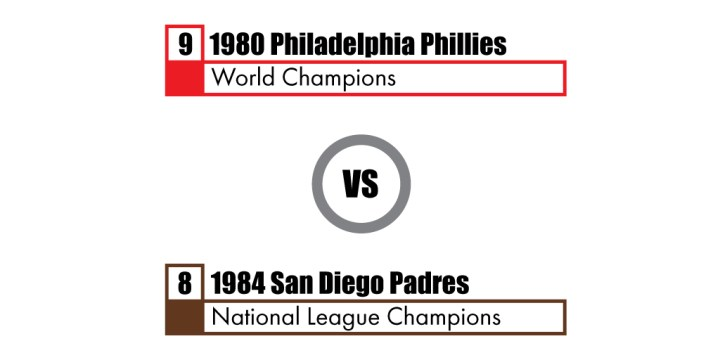 Pennant Winners Tournament 80 Phillies vs 84 Padres