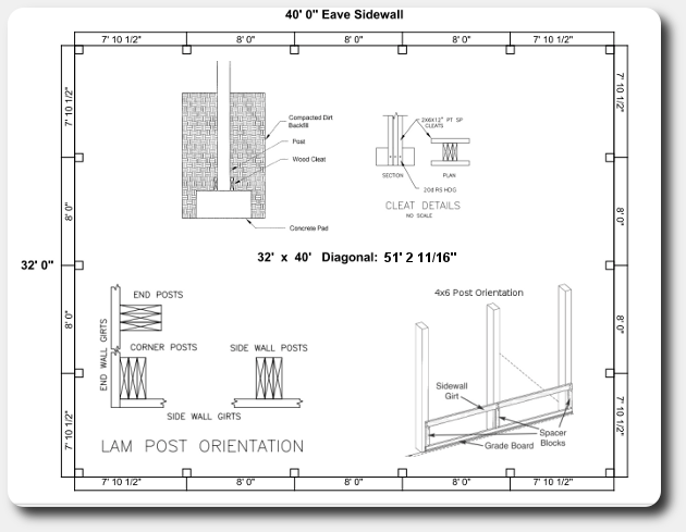 wiring diagram for a pole barn