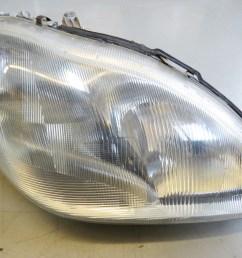 mercedes benz s430 s500 2000 2002 oem right headlight assembly 2208200661 [ 3413 x 2560 Pixel ]