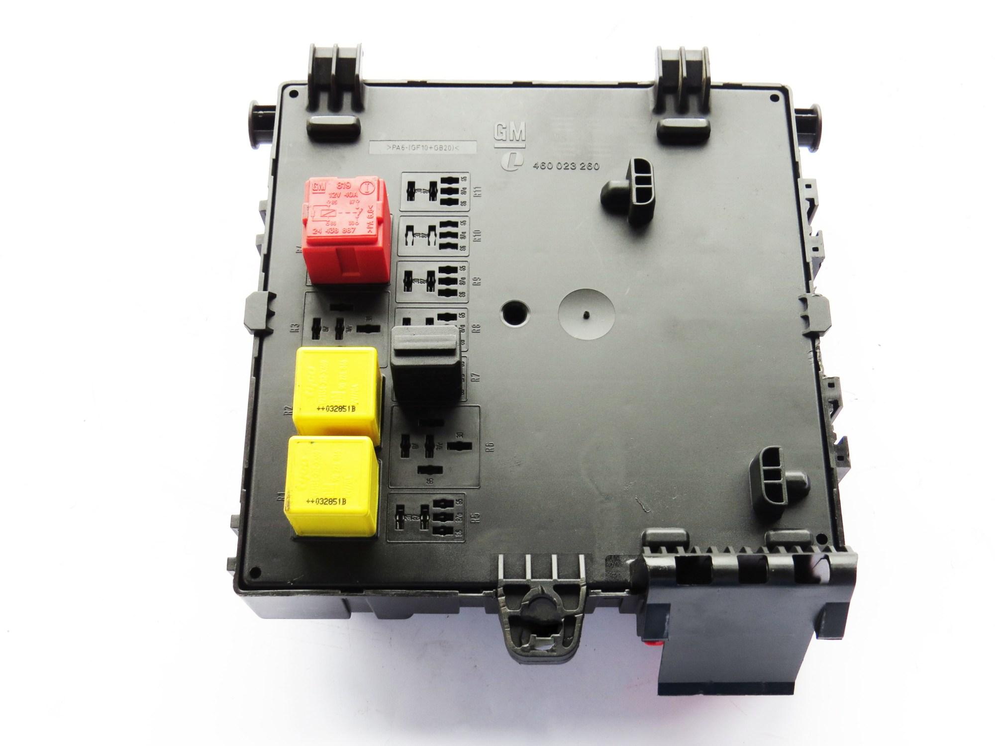 hight resolution of saab 9 3 2006 oem trunk body control fuse box 12801000 460023260