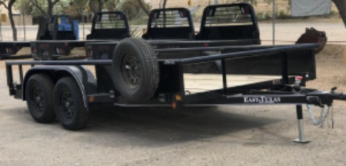 small resolution of 2018 east texas 77 x14 tandem axle utility image