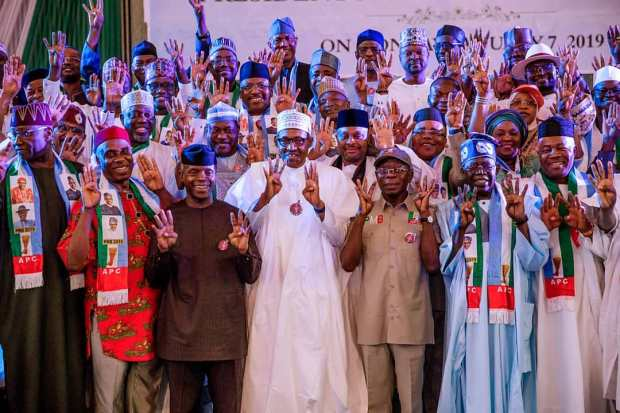 Inauguration of 2019 APC Presidential Campaign Council