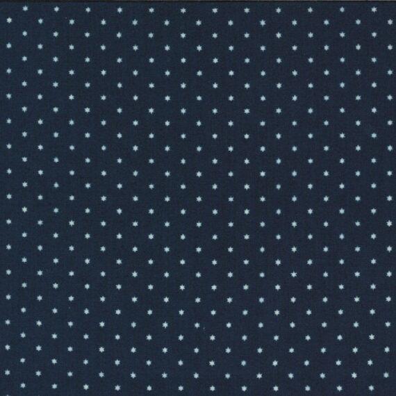 Tessuto 49123 15 Moda Fabrics (stella blu piccola)