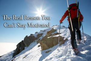 The real reason you can't stay motivated