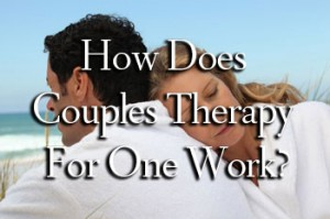 How does couples therapy for one work?