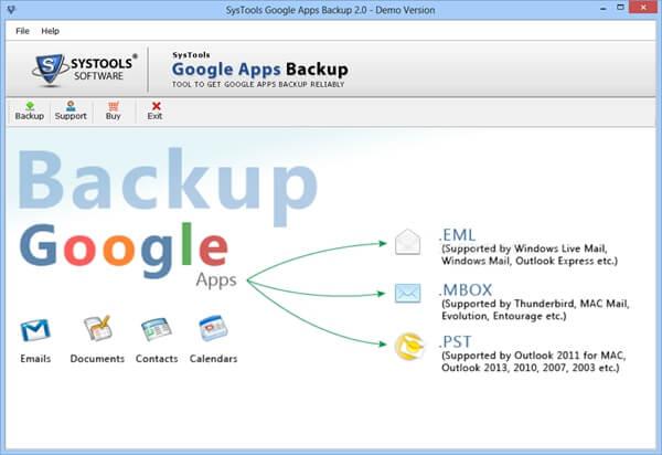 Backup Google.