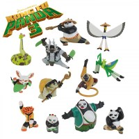 KUNG FU PANDA 3 Plastic Figure with BLISTER Choose your ...