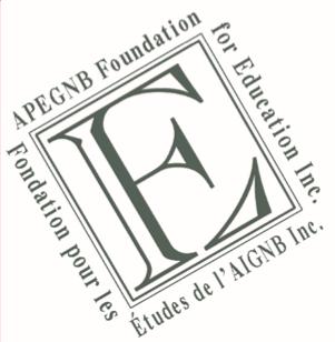 APEGNB Foundation for Education