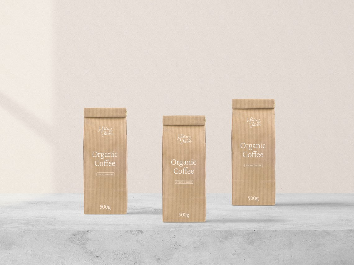 Download Packaging Coffee Mockup Free - mockup