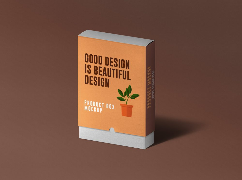 Download Free Product Box Mockup PSD | Free Mockups, Best Free PSD ...