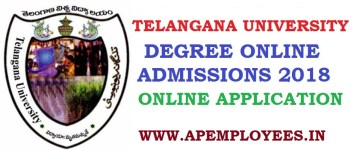 Telangana University Degree Online Admissions 2018 Seat Allotment