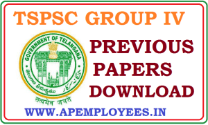 Download TSPSC Group 4 Previous Papers Model Papers in Telugu