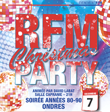 Soirée RFM Christmas Party !