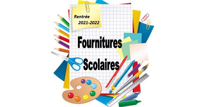 Distribution des fournitures scolaires – Rentrée 2021-2022