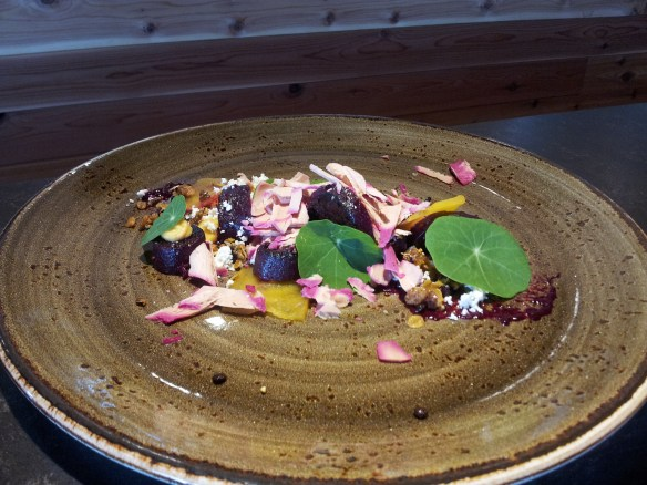 Beet Salad paired with Pentagram