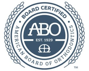 board certified orthodontist seal