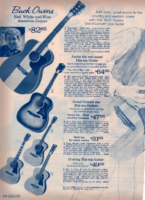 It Came From the 1971 Sears Catalog Buck Owens