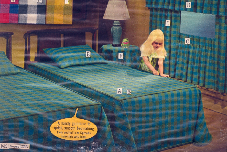 It Came From the 1971 Sears Catalog More Bedspreads