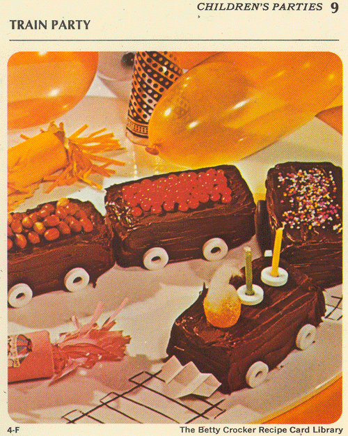 1971 Betty Crocker Recipe Library Children S Parties 9f