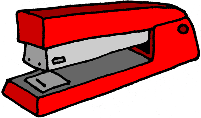 red desk chair staples fishing with rod rest a perfect world - clip art: office