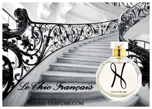 Only for Her Hayari Parfums ad